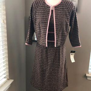 NWT Donna Ricco New York Dress + Jacket, size 4 🎉
